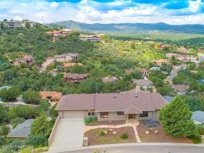 Prescott Single Family Home For Sale: 1140 Gambel Oak Trail