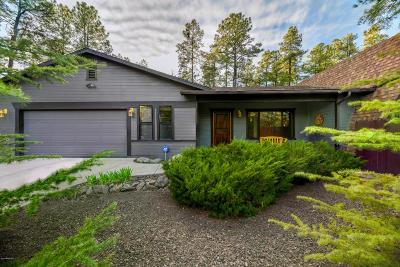 Groom Creek, Prescott, Walker Single Family Home For Sale: 1096 E Elk Trail
