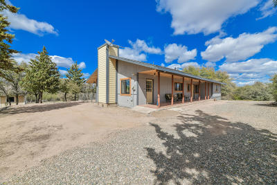 Prescott Single Family Home For Sale: 1850 W Oneal Road