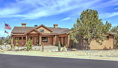 Prescott Single Family Home For Sale: 5470 W Three Forks Road