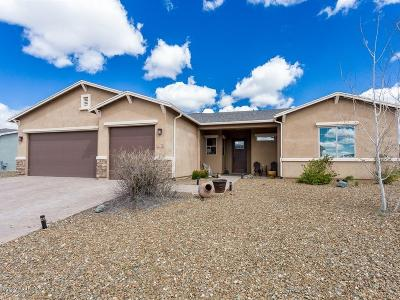 Prescott Valley Single Family Home For Sale: 8101 N Sunset Ridge