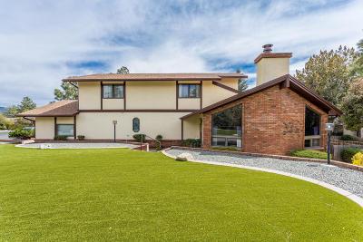 Groom Creek, Prescott, Walker Single Family Home For Sale: 1789 Rolling Hills Drive