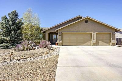 Prescott Valley Single Family Home For Sale: 7940 N Painted Vista Drive