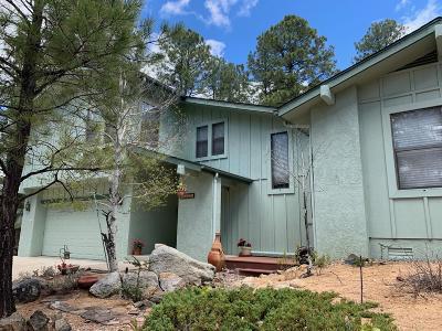 Groom Creek, Prescott, Walker Single Family Home For Sale: 1675 Abert Court