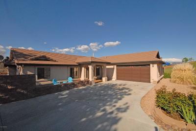 Prescott Valley Single Family Home For Sale: 9920 Tatum Circle