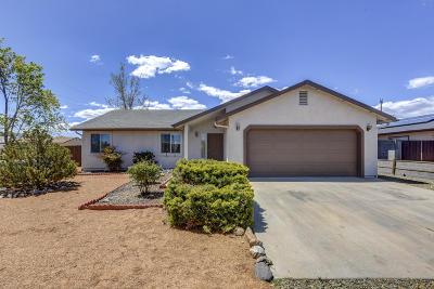 Prescott Valley Single Family Home Pending - Take Backup: 8097 E Donna Road