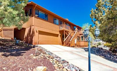 Prescott Single Family Home For Sale: 676 Shadow Mountain Drive