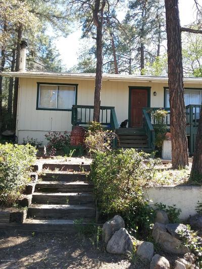 Prescott Single Family Home For Sale: 1603 Idylwild Road