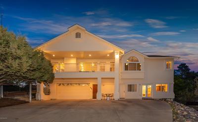 Prescott Single Family Home For Sale: 452 Prescott Heights Drive