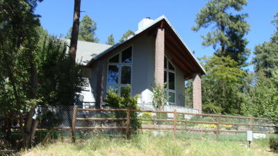 Prescott Single Family Home For Sale: 5486 S Dahlin Road