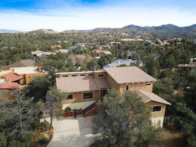 Prescott Single Family Home For Sale: 607 Hummingbird Way