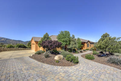 Prescott Single Family Home For Sale: 4465 Bareback Drive