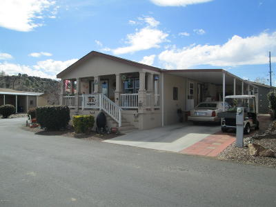 Yavapai County Mobile/Manufactured For Sale: 11250 E State Route 69 #2197