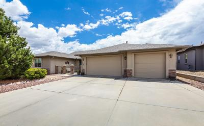 Prescott Valley Single Family Home For Sale: 7929 E Smoke House Lane