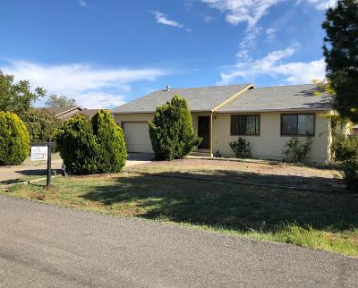 Prescott Valley Single Family Home For Sale: 8305 E Gary Court