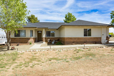 Prescott Single Family Home For Sale: 5410 Side Road