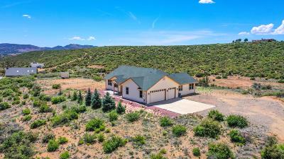 Yavapai County Single Family Home For Sale: 11645 E Prescott Dells Ranch Road