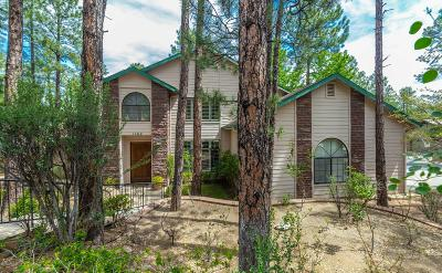 Prescott Single Family Home For Sale: 1162 W Timber Ridge Road