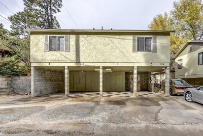 Prescott, Dewey-humboldt, Prescott Valley Multi Family Home For Sale: 124 S Alto Street