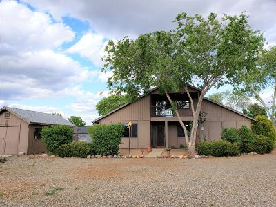 Prescott Valley Single Family Home For Sale: 5524 N Concho Drive