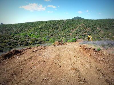 Prescott, Prescott Valley, Chino Valley, Dewey-humboldt Residential Lots & Land For Sale: 11153 E Rocky Hill Road