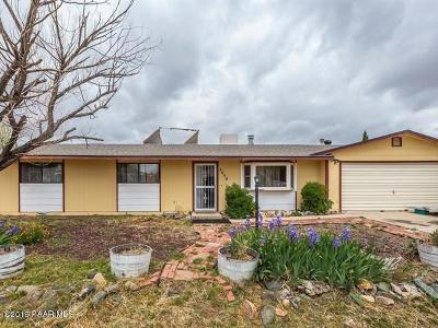 Prescott Valley Single Family Home For Sale: 3050 N Date Creek Drive