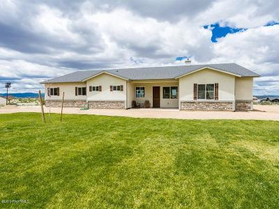 Prescott Valley Single Family Home For Sale: 9590 N Rincon Ridge Trail