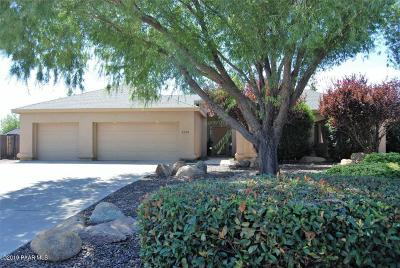 Prescott Valley Single Family Home For Sale: 5570 N Pierce Lane