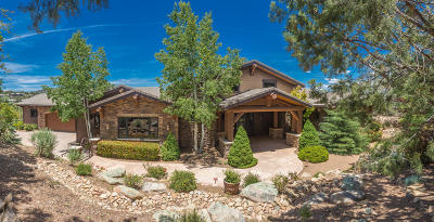 Prescott AZ Single Family Home For Sale: $1,850,000