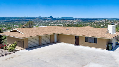 Prescott Single Family Home For Sale: 1320 Terrace View Drive