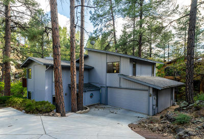 Prescott Single Family Home For Sale: 1485 Pine Tree Lane