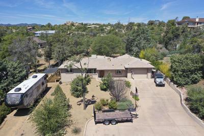Prescott Single Family Home For Sale: 1714 Oaklawn Drive