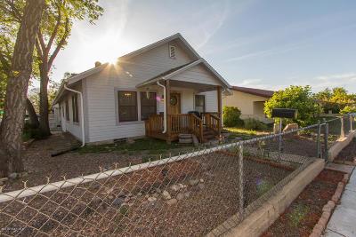 Prescott Single Family Home Pending - Take Backup: 402 N Virginia Street