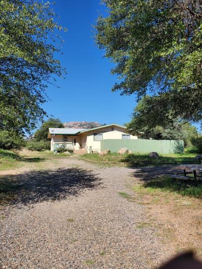 Prescott Single Family Home For Sale: 6730 N Lariat Lane