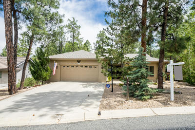 Prescott AZ Single Family Home For Sale: $569,900