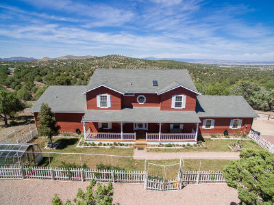 Prescott Single Family Home For Sale: 4040 Brenda Trail