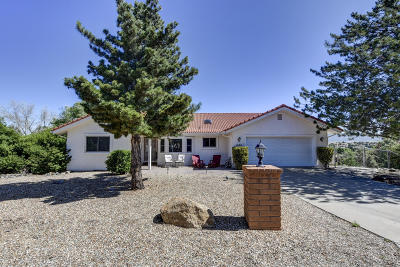 Dewey-humboldt Single Family Home For Sale: 11550 E Deer Trail Lane