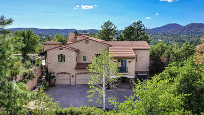 Prescott AZ Single Family Home For Sale: $850,000