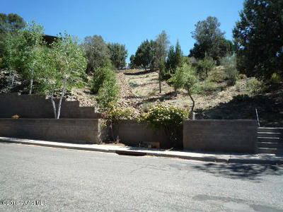 Prescott Residential Lots & Land For Sale: 1279 McDonald Drive