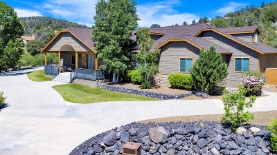 Prescott Single Family Home For Sale: 410 N Lynx Creek Road