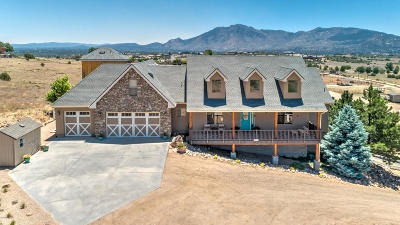 Yavapai County Single Family Home For Sale: 11755 N Triple Crown Trail