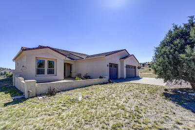 Yavapai County Single Family Home For Sale: 1300 E Oxbow Circle