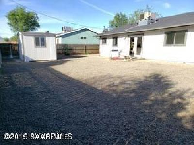 Prescott Valley Single Family Home For Sale: 3915 N Navajo Drive