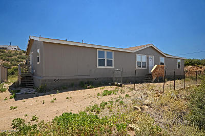 Yavapai County Mobile/Manufactured For Sale: 11800 E Native Drive