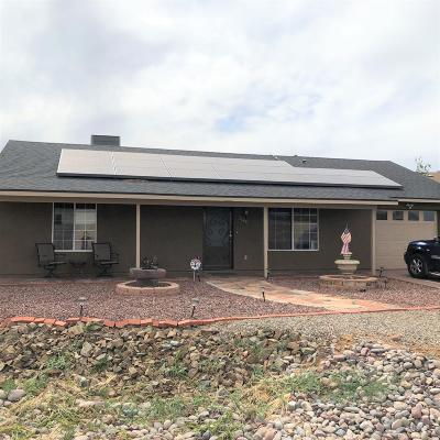 Prescott, Prescott Valley, Dewey-humboldt, Chino Valley Single Family Home For Sale: 5140 N Robert Road