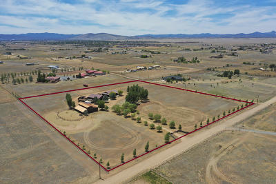 Prescott Valley Single Family Home For Sale: 8650 E Marrow Road