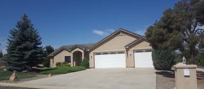 Prescott Single Family Home For Sale: 5883 Nightshade Lane