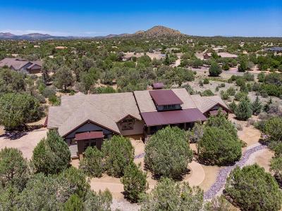 Prescott Single Family Home For Sale: 13361 N Iron Hawk Drive