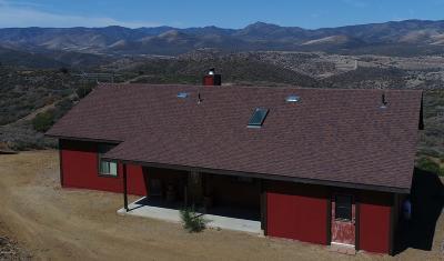 Dewey-humboldt Single Family Home For Sale: 14211 E Rattlesnake Trail