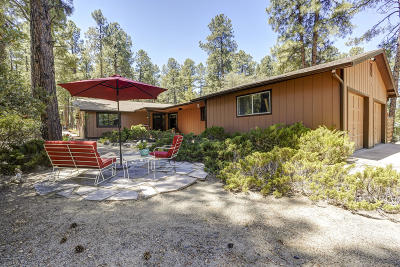 Prescott Single Family Home Pending - Take Backup: 1327 E Friendly Pines
